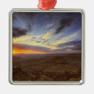 Sunset, south rim of the Grand Canyon, Grand Christmas Ornament