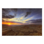 Sunset, south rim of the Grand Canyon, Grand Photographic Print