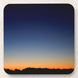 Sunset Space Glow Coasters