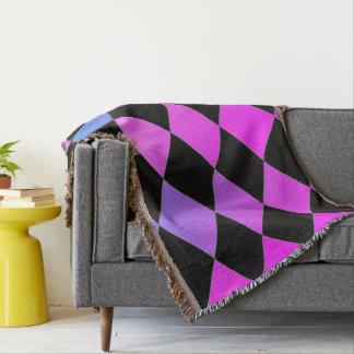 Sunset-Square-Blvd-Diamond's-Blanket-Unisex Throw Blanket