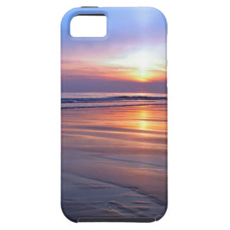 Sunset St Bees Footprint Tough iPhone 5 Case