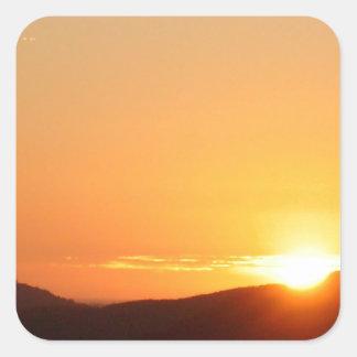 sunset stickers
