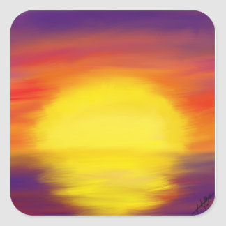 Sunset Stickers