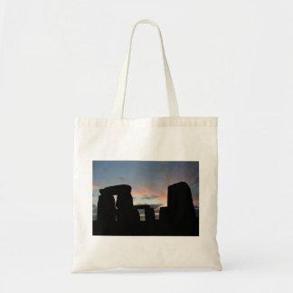Sunset Stones Budget Tote Bag