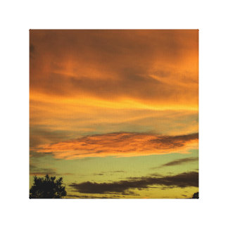 Sunset Stretched Canvas Print