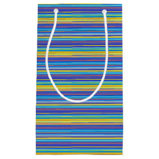 sunset stripes gift bag