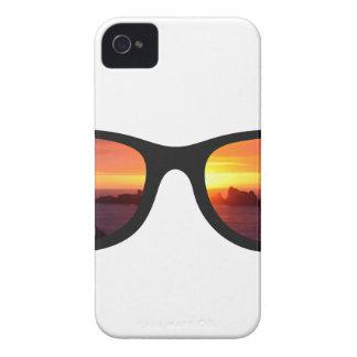 Sunset sunglasses iPhone 4 cases