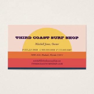 Sunset Surf Shop Professional Business Business Card