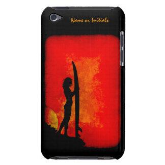Sunset Surfer Girl iPod Touch Case