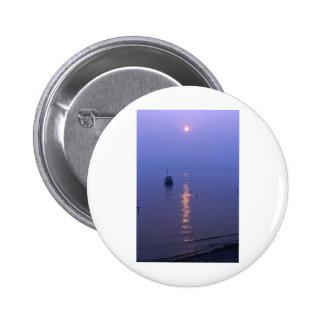 Sunset Swim 6 Cm Round Badge