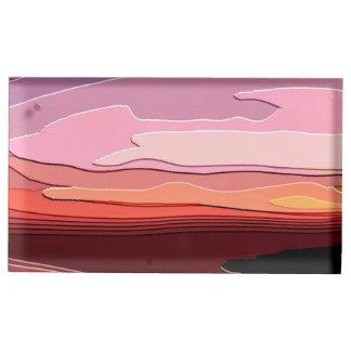 SUNSET TABLE CARD HOLDER