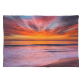 Sunset Tamarack Beach | Carlsbad, CA Placemat