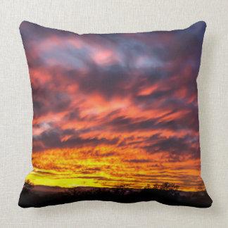 Sunset throw pillow throw cushions