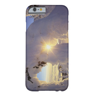Sunset thru the Snowghosts at Big Mountain near Barely There iPhone 6 Case