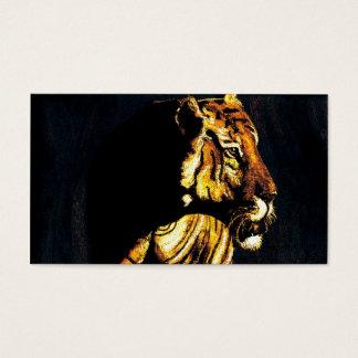 sunset tiger 2 business card