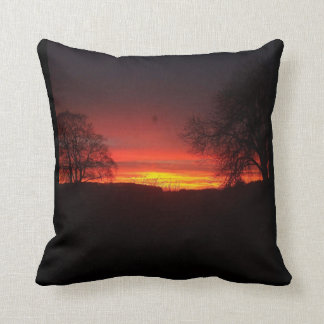 Sunset to die for! cushion