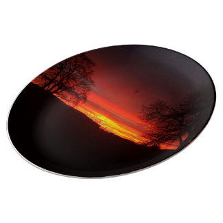 Sunset to Die For! Plate
