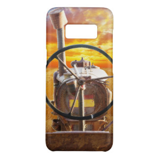 Sunset Tractor Design Case-Mate Samsung Galaxy S8 Case