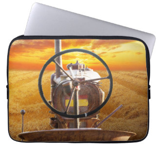 Sunset Tractor Design Computer Sleeve