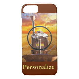 Sunset Tractor Design iPhone 7 Case