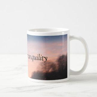 Sunset Tranquility Basic White Mug