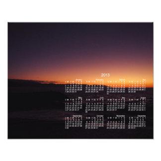Sunset Transition 2013 Calendar Photo
