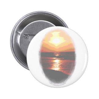 Sunset Transparency Pinback Buttons
