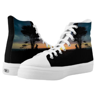 Sunset Tree Shoes
