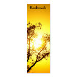 "Sunset Trees ""bookmark"" skinny business card"