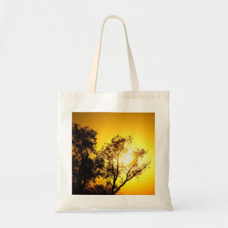 Sunset Trees Budget Tote Bag