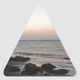 Sunset Triangle Sticker