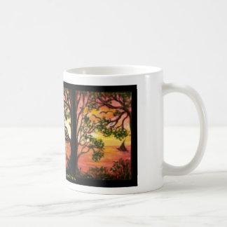 Sunset Trio Basic White Mug