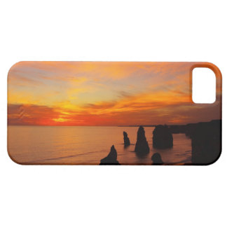 Sunset, Twelve Apostles, Port Campbell National iPhone 5 Cover