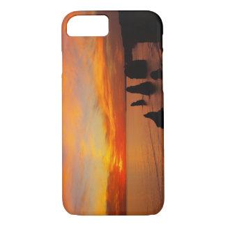 Sunset, Twelve Apostles, Port Campbell National iPhone 8/7 Case