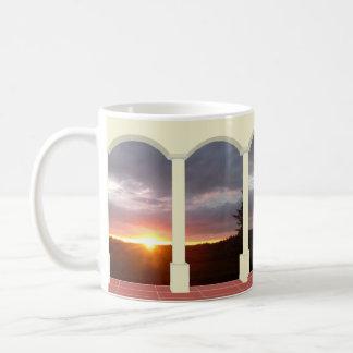 Sunset Under Arch Mug