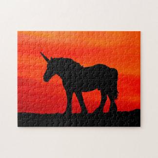 Sunset Unicorn Jigsaw Puzzle