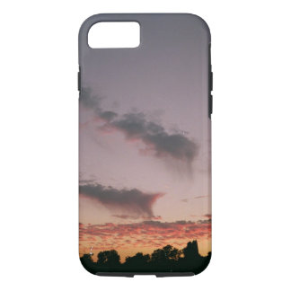 Sunset violet Iphone Case