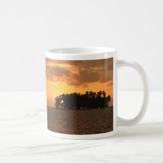 Sunset, W Coco Banderos, Kuna Yala, Panama Basic White Mug