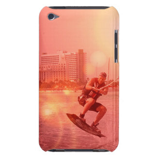Sunset Wakeboarder iTouch Case iPod Touch Covers
