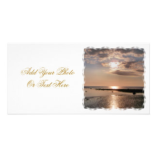 SUNSET WALES UK PICTURE CARD