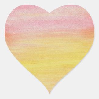 Sunset Watercolor Sticker