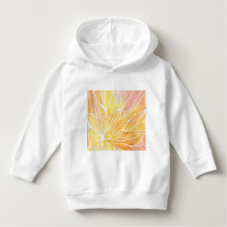 Sunset Watercolour Marble Break Hoodie