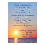 Sunset Wedding Invitation