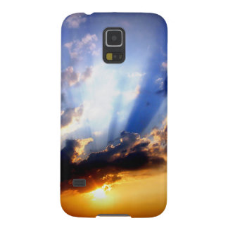 Sunset with Clouds, Beautiful Sky Galaxy S5 Cover