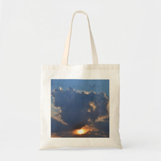 Sunset With Teacup Cloud Formation Bag