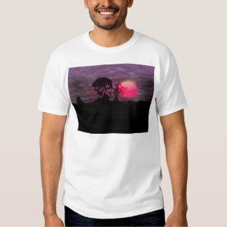 Sunset With Tree Shirts