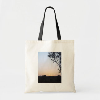Sunset With Tree Silhouette At Wanneroo Bag
