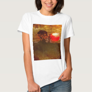 Sunset With Tree Tshirt