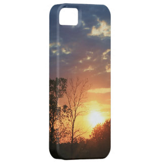 Sunset with Trees iPhone 5 Case