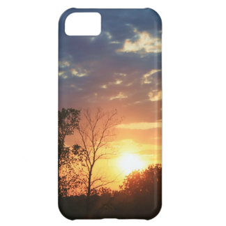 Sunset with Trees iPhone 5C Case